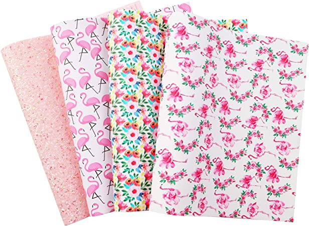 Floral Glitter sheets Pearl faux leather sheets Hair bows Craft supplies Leather sheets Earrings Texture leather sheet