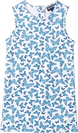 Butterflies Terry Dress (Toddler/Little Kids/Big Kids)