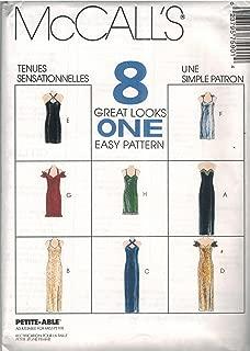 7590 McCalls Sewing Pattern Uncut Misses Dress Evening Gown Size 10 12 14