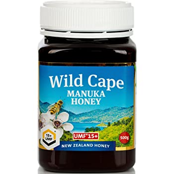 Wild Cape UMF 15+ East Cape Manuka Honey (MGO 514+), 500g (1.1 lb)