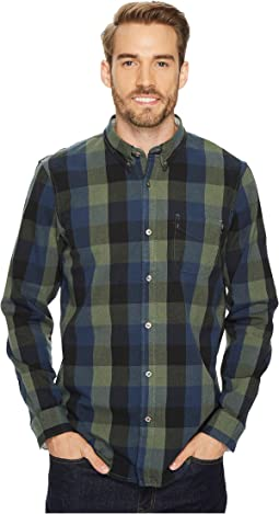 Timberland - Long Sleeve Back River Brushed Oxford Check Shirt