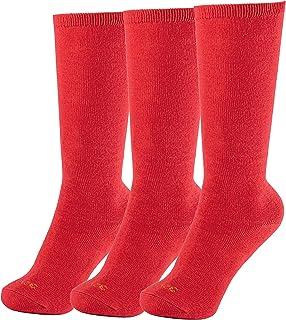 Minime, Calcetines Largos Escolares Colegio Uniforme Varios Colores Pack de 3