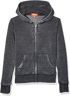 Butter Girls' Big Fleece Zip Up Hoodie (More Styles Available)