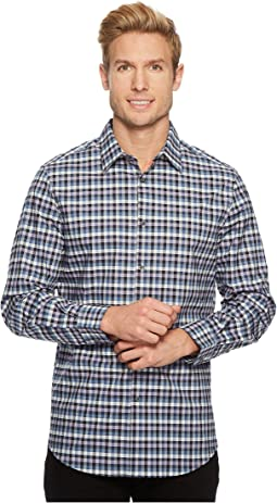 Perry Ellis - Checker Plaid Shirt
