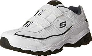 Skechers Men's Afterburn Strike Memory Foam Velcro Sneaker