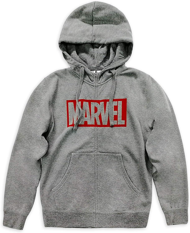 Marvel Logo Zip-Up Hoodie for Men