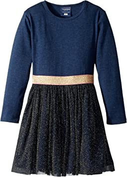 Toobydoo - Gold Shimmer Party Dress (Infant/Toddler/Little Kids/Big Kids)