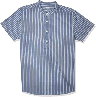 قميص بابلو كاجوال طويل الاكمام للرجال من اوه في اس