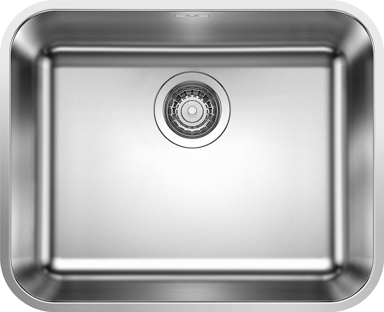 Blanco 518205 Fregadero de Cocina, plata