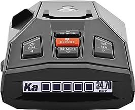 $148 » Cobra iRad Laser Radar Detector – iRadar App, RAD450 Technology with Bluetooth, Real Time Alerts, Extreme Long Range Prote...