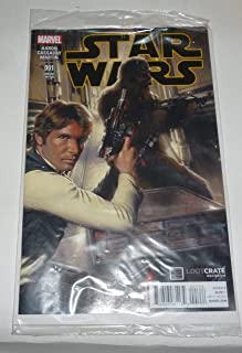 Star Wars #1 Loot Crate January 2015 Exclusive Gabriele Dell'Otto Cover Variant