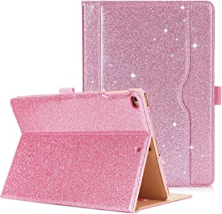 ProCase iPad 9.7 Case 2018/2017 iPad Case - Stand Folio Cover Case for Apple iPad 9.7 inch, Also Fit iPad Air 2 / iPad Air -Glitter Pink