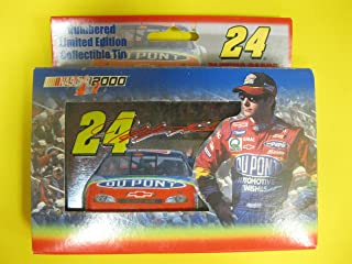 Jeff Gordon Limited Edition Tin with Playing Cards NASCAR 2000 by USPCC
