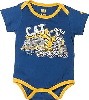 Caterpillar Baby Boy's Movin' Bodysuit