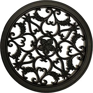 Best Nuvo Iron Round Decorative Insert for Fencing, Gates, Home, Garden ACW55 Review
