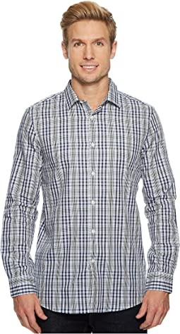 Perry Ellis - Slim Multi-Cross Check Shirt