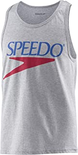 Speedo Unisex-Adult Tank Top Sleeveless Vintage Crew Neck