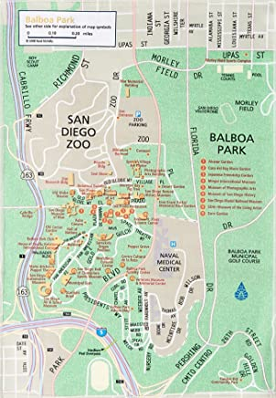 Rand McNally Fab Map San Diego, California: Balboa Park to the Gaslamp Quarter