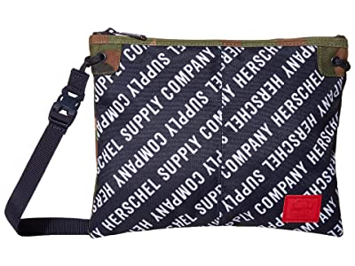 Herschel Supply Co. Alder (Roll Call Peacoat/Woodland Camo) Cross Body Handbags