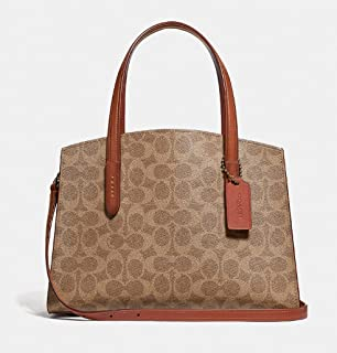 COACH Women's Coated Canvas Signature Charlie 28 Carryall
