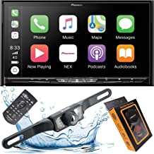 """Pioneer AVIC-W8500NEX Wireless Apple CarPlay & Android Auto Wireless Double Din In-Dash DVD/CD Car Stereo Receiver with A 7"""" Touchscreen and Weblink + Backup Camera Included + Phone Magnet Holder"""