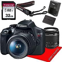 $369 » Canon EOS Rebel T7 DSLR Camera w/EF-S 18-55mm f/3.5-5.6 is II Lens+ 32GB Memory Bundle