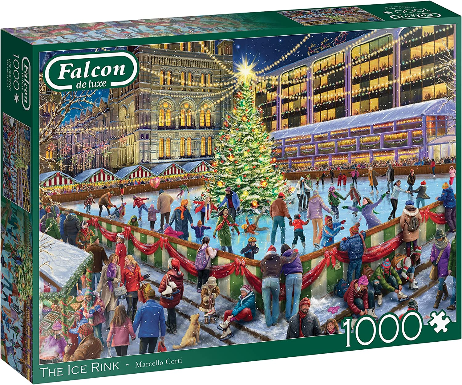 Falcon Deluxe The Ice Rink Puzzle Lowest price challenge High order Pieces Jigsaw 1000