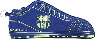 FC Barcelona Estuche portatodo Forma Zapatilla, Escolar.