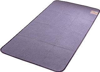 テイジン(Teijin) 寝具用除湿シート パープル シングル (90×180cm) 繰りかえし使える ベルオアシス 除湿 消臭 湿気センサー 88100119