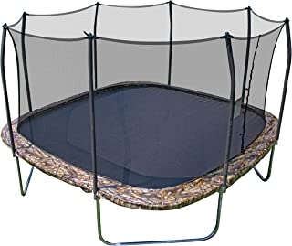 Skywalker Trampolines Square Trampoline and Enclosure with Spring Pad