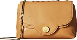 Polina Leather Crossbody Bag