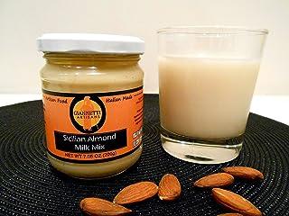Giannetti Artisans Unsweetened Almond Milk Mix Paste (100% Ground Sicilian Almonds 7.05 oz)