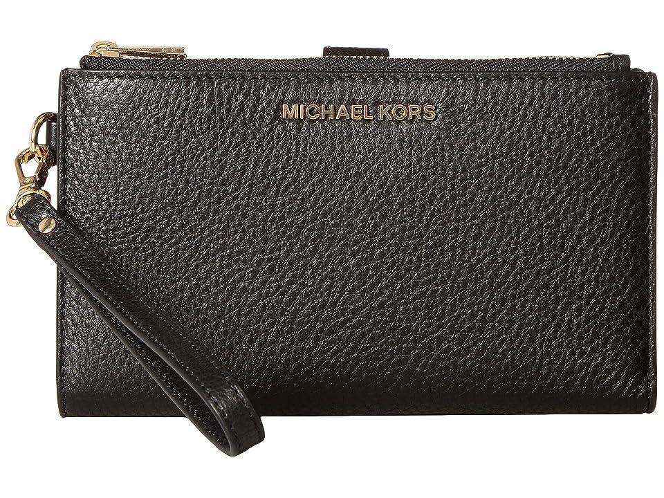 MICHAEL Michael Kors - MICHAEL Michael Kors Adele Double-Zip Wristlet 7+