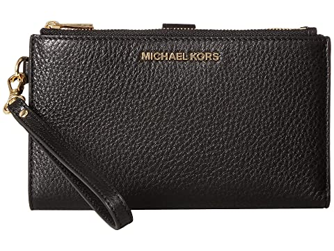 fcd5f01b2544 MICHAEL Michael Kors Adele Double-Zip Wristlet 7+ at Zappos.com