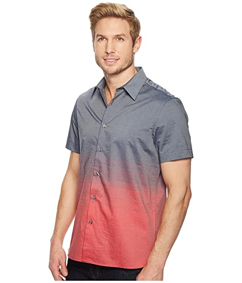 Horizontal Ellis Pattern Ombre Sleeve Shirt Perry Short aBWHOaq