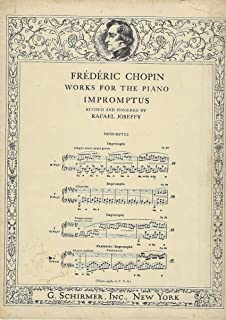Frederic Chopin Fantasie Impromptu In C Sharp Minor Op.66 (Piano) Pf