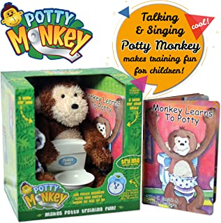 Potty Monkey - Potty Training Toy And Toilet Training Books