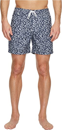 Original Penguin - Floral Ditsy Fixed Volley Swim Shorts