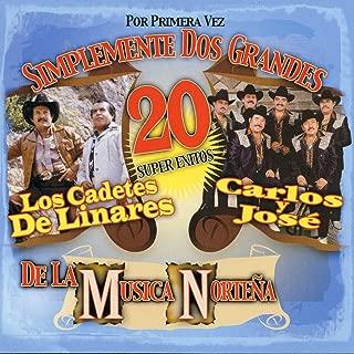 Por Primera Vez Simplemente Dos Grandes De La Musica Nortena - 20 Super Exitos