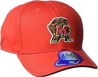 NCAA Maryland Terrapins Toddler Outerstuff Basic Structured Adjustable Hat, Team Color , Toddler