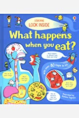 Look Inside What Happens When You Eat Board book