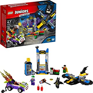 LEGO Juniors/4+ DC The Joker Batcave Attack 10753 Building Kit (151 Pieces)