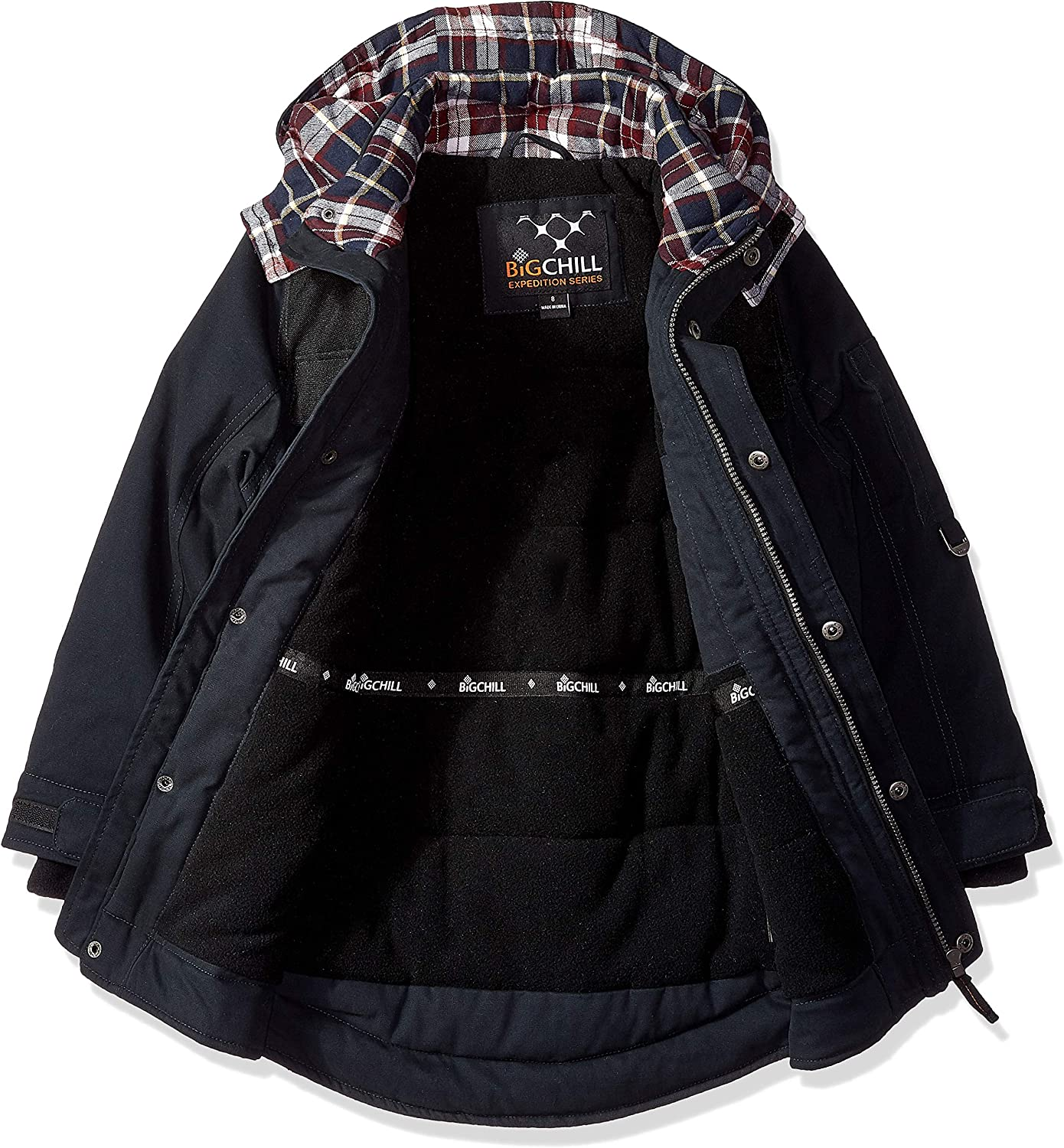 Big Chill boys Washed Cotton Expedition Jacket