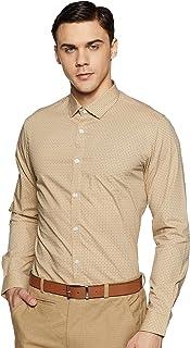 Excalibur Men's Printed Regular fit Formal Shirt