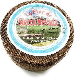 Queso Semicurado mezcla oveja y vaca con leche pasteurizada 3 kg aprox. Envío GRATIS 24h.