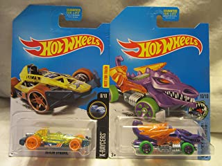 Hot Wheels Treasure Hunt Arrow Dynamic & Dragon Blaster 1:64 Scale Die-Cast 2 Car Bundle!
