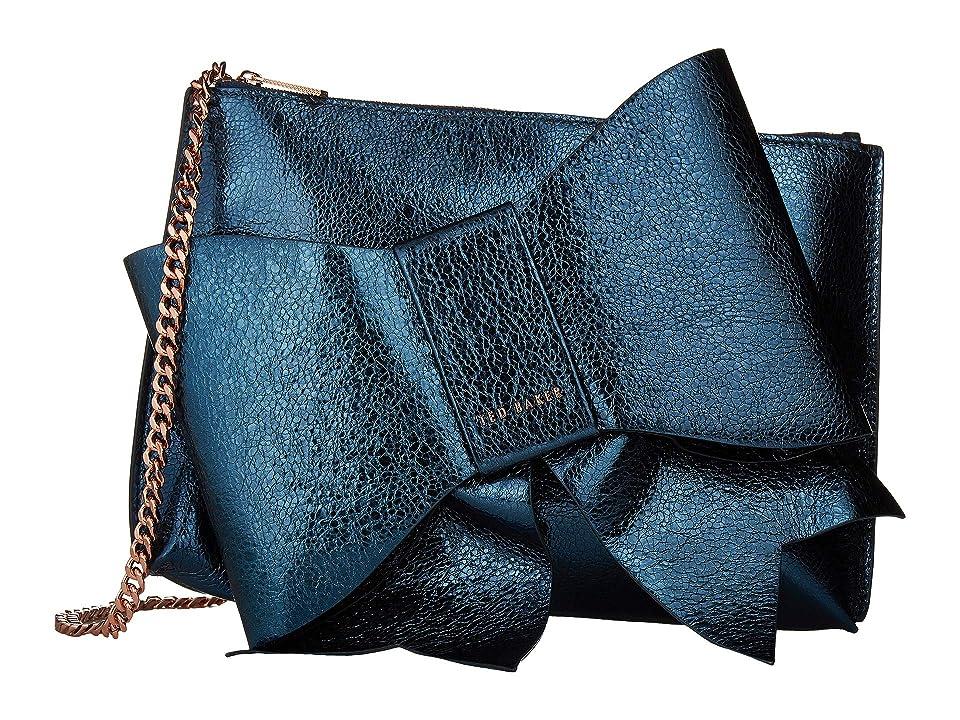 61538256a Ted Baker Aliysa (Dark Blue) Handbags