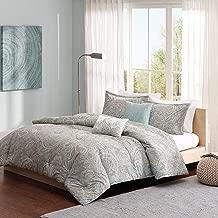 Madison Park MPP10-002 Pure Ronan Cotton Comforter Set Cal King Blue, King King (Renewed)