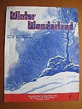Winter Wonderland - Sheet Music - Piano, Vocal, Guitar