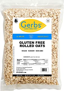 Sponsored Ad - GERBS Traditional Rolled Oats, 32 ounce Bag, Top 14 Food Allergy Free, Non GMO, Pesticide Free, Keto, Paleo...
